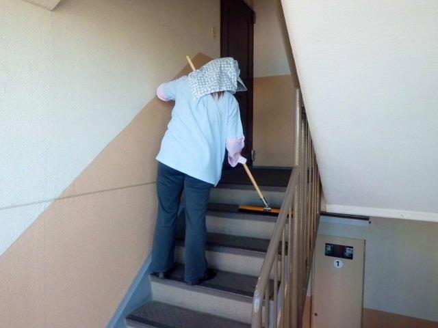 建物内清掃